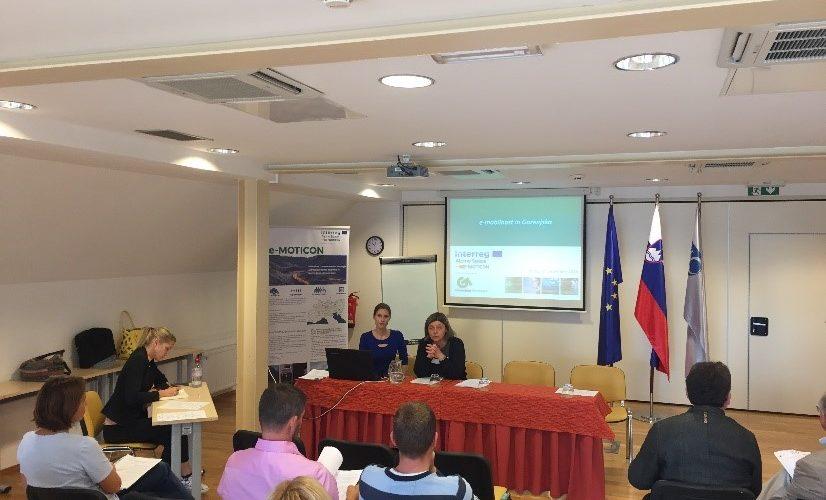 Delovni sestanek v sklopu priprave Regionalnega akcijskega načrta za širjenje e-mobilne infrastrukture in e-mobilnosti, projekt e-MOTICON