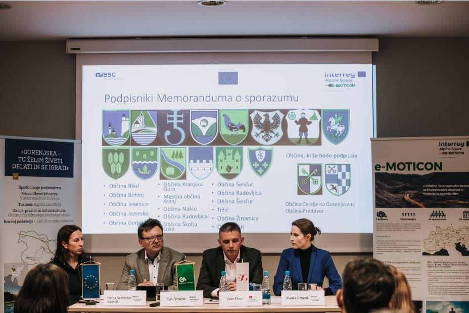 Podpora širjenju infrastrukture za električno mobilnost na Gorenjskem